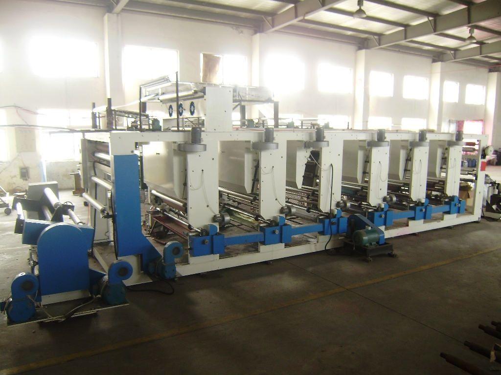 凹印设备生产新型装饰纸