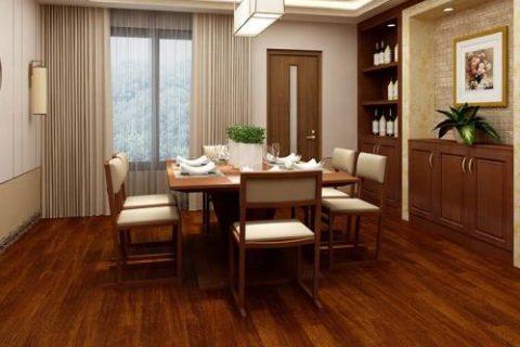 木纹家具板设计:五款深色系大木纹地板推荐