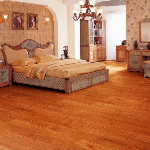 榉木仿古实木地板